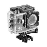 Innelec KX FJ Sportscamera 4K Full HD + accesoires Waterdichte behuizing - Zwart