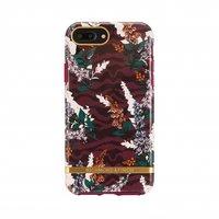 Richmond & Finch Bloemen Zebra Hoesje iPhone 6 Plus 6s Plus 7 Plus 8 Plus Case - Floral Zebra