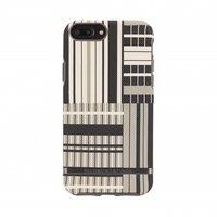 Richmond & Finch Platinum Strepen hoesje iPhone 6 Plus 6s Plus 7 Plus 8 Plus case - Platinum Stripes