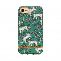Richmond & Finch Groen Luipaard Case iPhone 6 6s 7 8 hoesje - Green Leopard