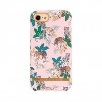 Richmond & Finch Roze Tijger iPhone 6 6s 7 8 SE 2020 hoesje - roze case - Pink Tiger