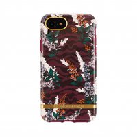 Richmond & Finch Bloemen Zebra Hoesje iPhone 6 6s 7 8 - Floral Zebra