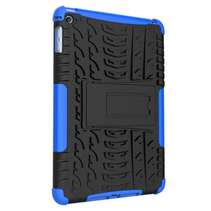 Bandprofiel hoes grip kickstand TPU kunststof iPad mini 4 5 Case - Blauw