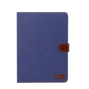 Jeans Fabric iPad Pro 11-inch 2018 Hoes - Donker Blauw