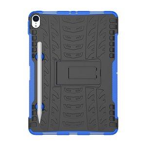 Hybride TPU Polycarbonaat iPad Pro 11-inch 2018 Case Hoes - Profiel Blauw Standaard