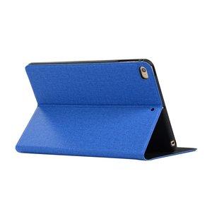 Jeans spijkerstof beschermhoes flipcase TPU iPad mini 4 5 - Blauw