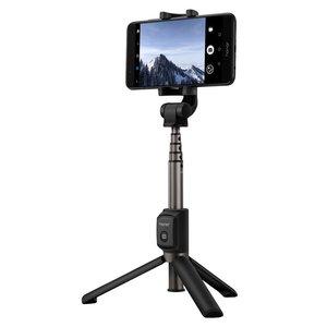 Universele Huawei Honor AF15 Selfiestick + Tripod Bluetooth - Zwart