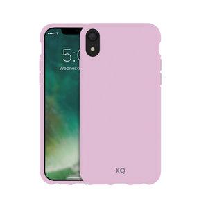 Xqisit ECO Flex Case Biologisch Afbreekbaar Beschermend Hoesje iPhone XR - Roze