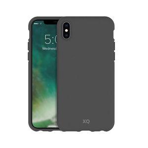 Xqisit ECO Flex Case Biologisch Afbreekbaar Beschermend Hoesje iPhone X XS - Grijs