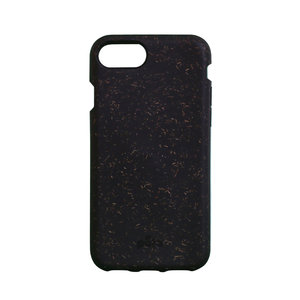 Pela Eco Milieuvriendelijk Case Biologisch Afbreekbaar Beschermend Hoesje iPhone 6 6s 7 8 SE 2020 - Zwart