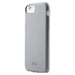 Pela Eco Milieuvriendelijk Case Biologisch Afbreekbaar Beschermend Hoesje iPhone 6 6s 7 8 SE 2020 - Grijs