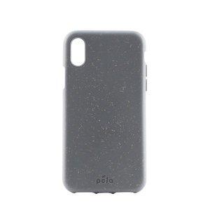 Pela Eco Milieuvriendelijk Case Biologisch Afbreekbaar Beschermend Hoesje iPhone XR - Grijs
