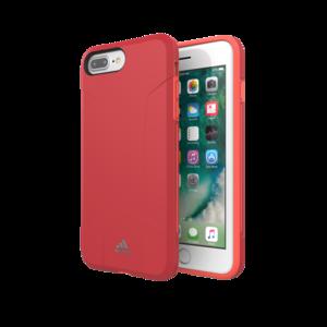 adidas case valbestendig TPU hoesje iPhone 6 Plus 6s Plus 7 Plus 8 Plus - Rood