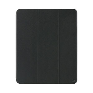 Xqisit Piave flipcase magnetisch tri-fold hoes penhouder iPad Pro 11 - Zwart