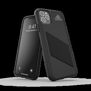 adidas beschermcase streep hoesje performancelogo iPhone 11 Pro Max - Zwart