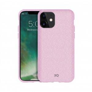 Xqisit ECO Flex Case Biologisch Afbreekbaar Beschermend Hoesje iPhone 11 - Roze