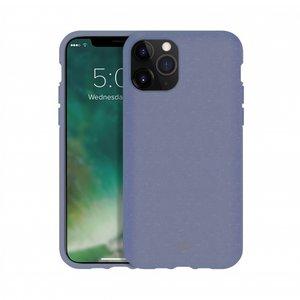 Xqisit ECO Flex Case Biologisch Afbreekbaar Beschermend Hoesje iPhone 11 Pro Max - Blauw