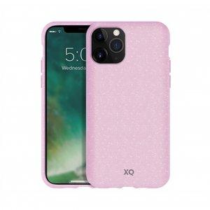 Xqisit ECO Flex Case Biologisch Afbreekbaar Beschermend Hoesje iPhone 11 Pro Max - Roze