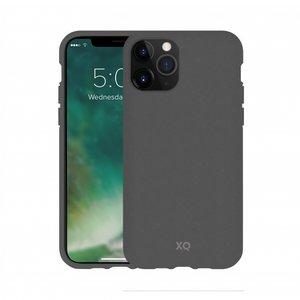 Xqisit ECO Flex Case Biologisch Afbreekbaar Beschermend Hoesje iPhone 11 Pro Max - Grijs