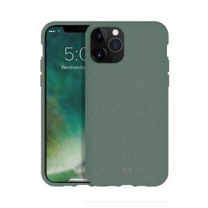 Xqisit ECO Flex Case Biologisch Afbreekbaar Beschermend Hoesje iPhone 11 Pro Max - Groen