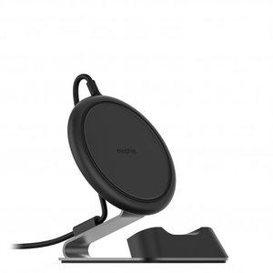 Mophie Universele Draadloze Qi Oplaadpad voor op het bureau - Zwart