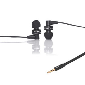 Quality Sound Awei In-Ear Oordopjes Zwart Oortjes Mic