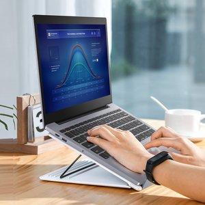 Baseus Mesh Laptop standaard - Maximaal 15 inch