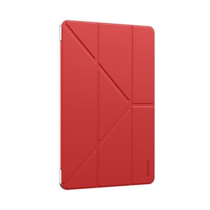 Baseus Jane Hybride iPad 10.2 inch Hoes Tri-Fold - Rood
