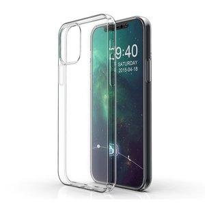 TPU hoesje voor iPhone 12 en iPhone 12 Pro - transparant