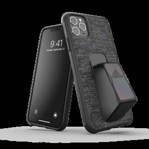adidas Sport Grip kunststof hoesje voor iPhone 11 Pro Max - zwart fabric