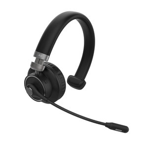 Xqisit Mono Bluetooth Headset met microfoon Wireless - Zwart