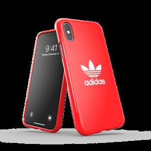 adidas Originals kunststof hoesje voor iPhone X en iPhone XS - rood