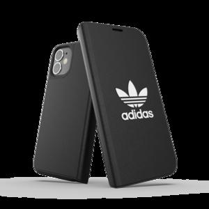adidas Originals kunstleer hoesje voor iPhone 12 mini - black