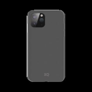 Xqisit Eco Flex Biologisch afbreekbaar en Anti Bacterieel hoesje voor iPhone 12 mini - grijs