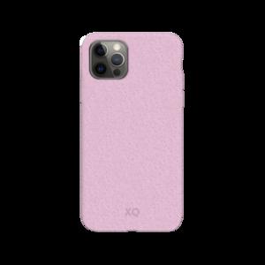 Xqisit Eco Flex Biologisch afbreekbaar en Anti Bacterieel hoesje voor iPhone 12 Pro Max - roze