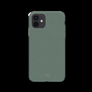 Xqisit Eco Flex Biologisch afbreekbaar en Anti Bacterieel hoesje voor iPhone 12 mini - groen