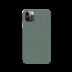 Xqisit Eco Flex Bio afbreekbaar Anti Bacterieel hoesje voor iPhone 12 en iPhone 12 Pro - groen