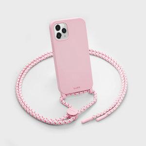 LAUT Pastels kunststof hoesje voor iPhone 12 en iPhone 12 Pro - roze