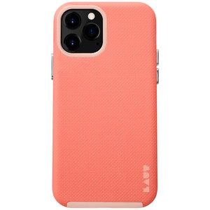 LAUT Shield kunststof hoesje voor iPhone 12 en iPhone 12 Pro - oranje