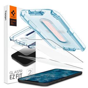 Spigen Glassprotector iPhone 12 en 12 Pro 2 stuks - 9H Hardheid
