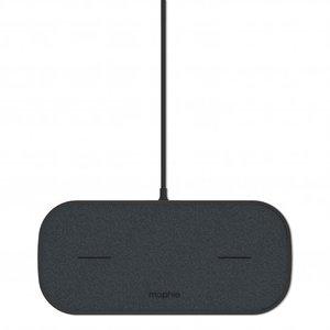 Mophie Dual Wireless Charging Dubbel Draadloos Opladen Pad Qi - Zwart