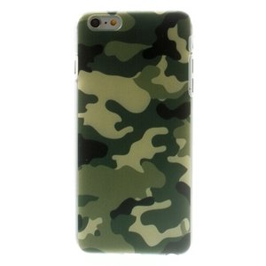 Leger hoesje Camo cover iPhone 6 Plus 6s Plus case met Legerprint