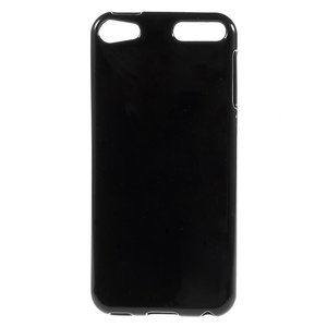 Effen zwart TPU hoesje iPod Touch 5 6 7 silicone cover Black