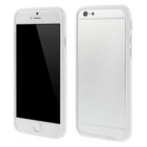 Doorzichtige bumper hoesje iPhone 6 6s transparant case bescherming