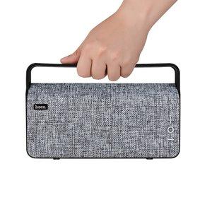 Hoco BS10 Bluetooth Speaker Fabric Grey - Draadoze luidspreker grijs