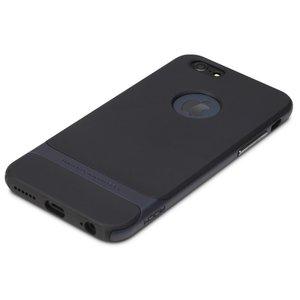 Rock Royce series Navy Blue iPhone 6 Plus 6s Plus hoesje case - Blauw - Zwart