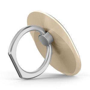Ring grip universeel smartphone vinger houder - goud
