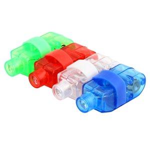 Vingerlampjes 4 kleuren LED feest - Rood Blauw Wit Groen