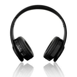 BTH-818 Over-ear draadloze bluetooth Stereo Koptelefoon Headset - Microfoon Zwart