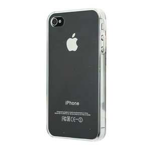 iPhone 4 4S 4G hard case hoesje crystal doorzichtig clear - Doorzichtig